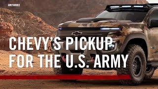 Chevy Hydrogen Powered Army Truck
