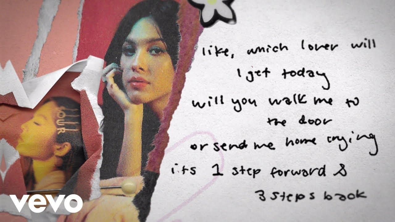 Olivia Rodrigo - 1 step forward, 3 steps back (Lyric Video)