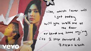 Olivia Rodrigo - 1 sтep forward, 3 steps back (Lyric Video)