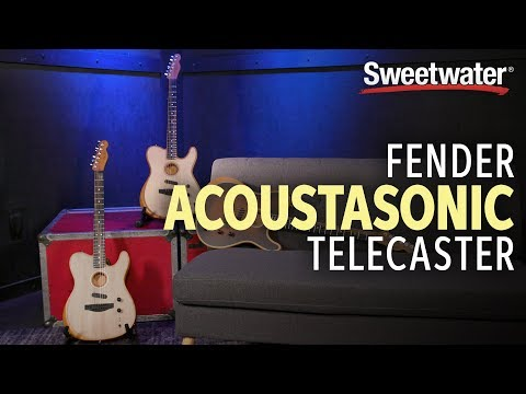 fender acoustasonic telecaster demo with brian swerdfeger thumb