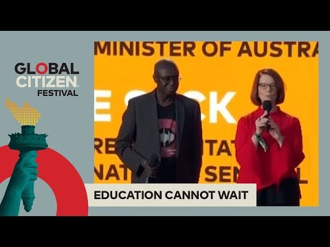 Julia Gillard, Fode Seck & Ulla Tørnæs on the Value of Edu | Global Citizen Festival NYC 2017