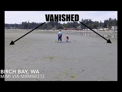 Its happening AGAIN - More than 2 MILES of coastal water vanishes!
