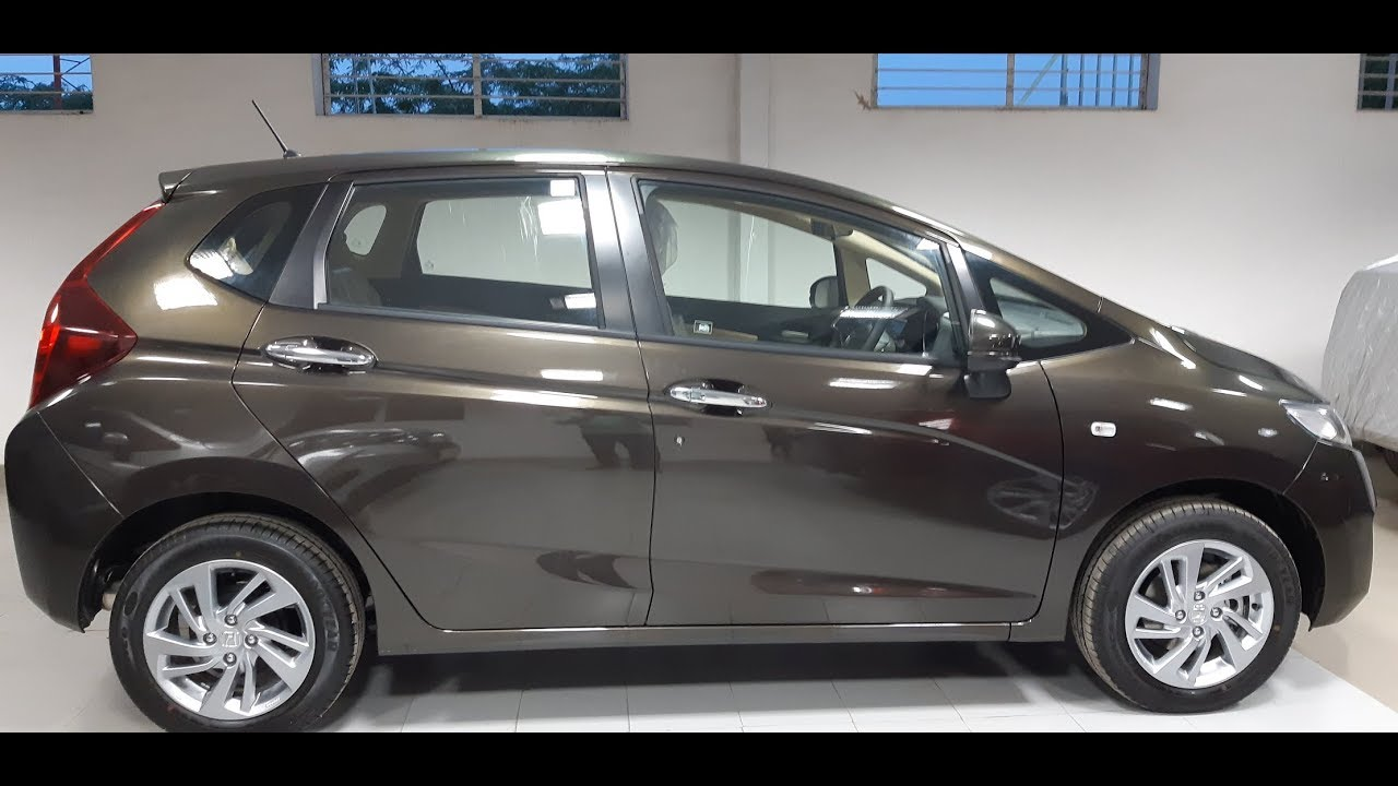 New 2018 Honda Jazz Cvt Amt Automatic Review Youtube
