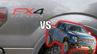 Ford F150 FX4 vs. Raptor - Why I Chose the FX4