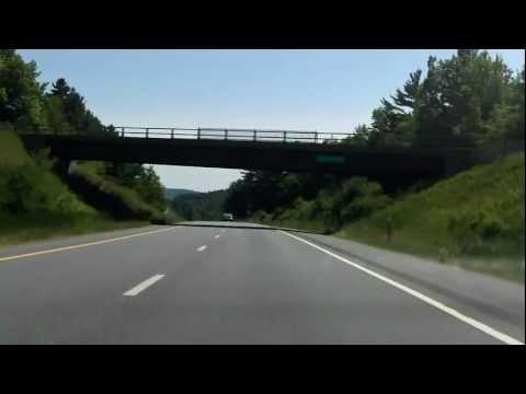 Adirondack Northway (Interstate 87 Exits 31 to 30) southbound
