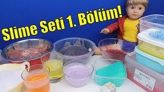 Eski Slime'lardan Slime Seti! Bu Saatte Video Çektim Eyvah! Yakalandım! Merlin Slime Bidünya Oyuncak