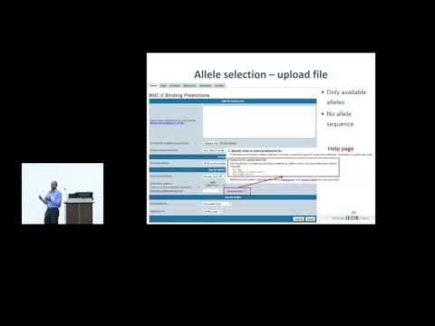 Immune Epitope Database (IEDB) 2015 User Workshop - MHC class II and TepiTool