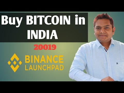 Buy BITCOIN In India With Debit Card Binance Exchange