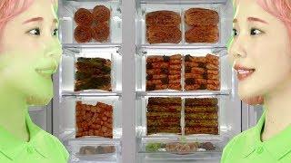 김치냉장고를 홍보하는 트로피카나