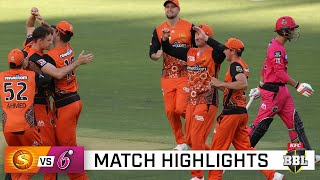 Sixers scorched as Marsh, Tye lead Perth rout | KFC BBL|10