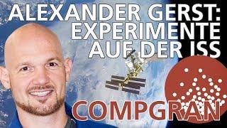 Alexander Gerst: Das Experiment CompGran