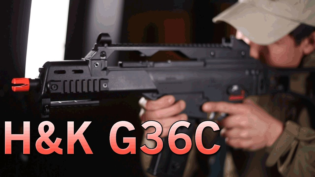 H&K G36C AEG by KWA - Great For CQB - Famous 2GX Gearbox | Airsoft GI