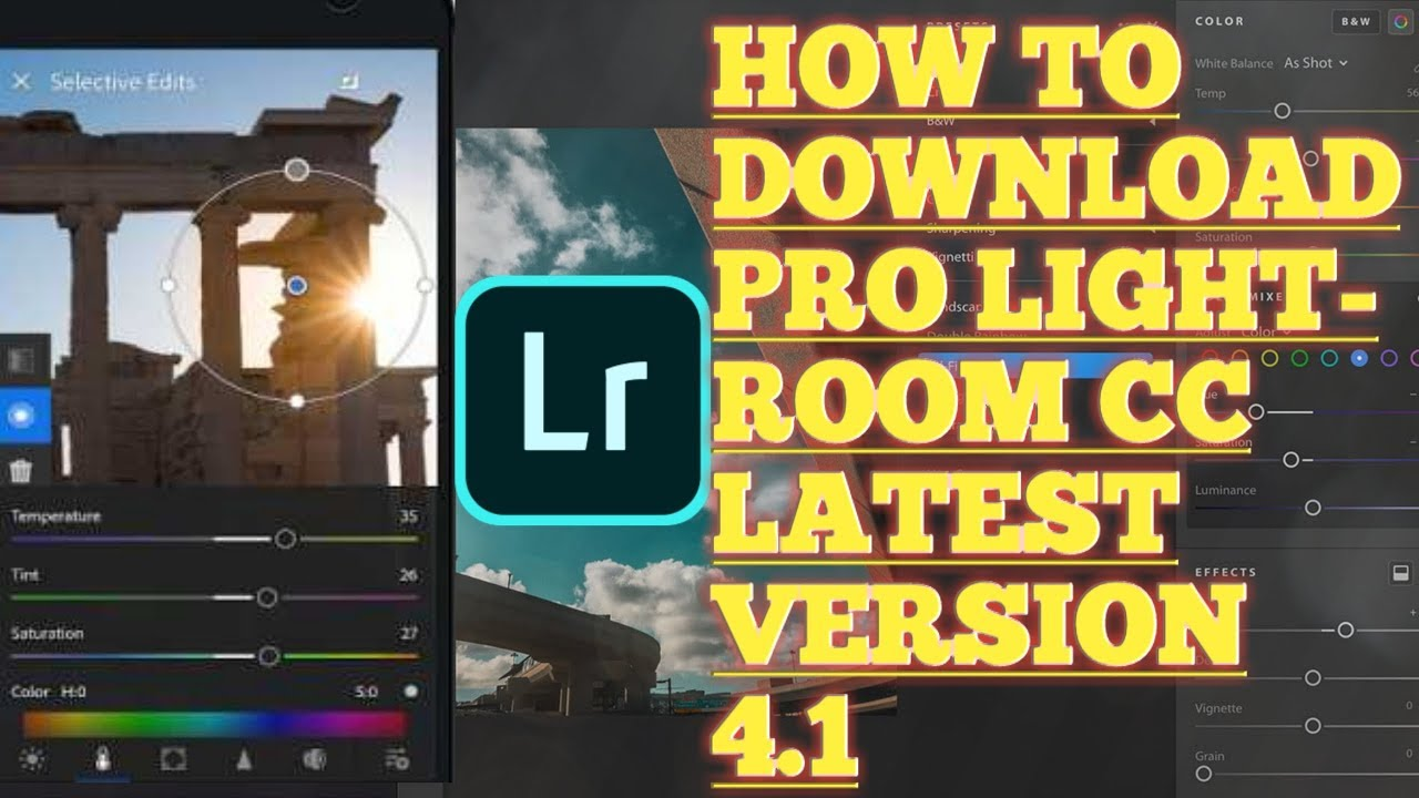 lightroom latest version download for android