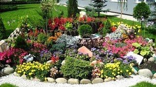Цветы для альпийской горки(Цветы и растения подбирают таким образом, чтобы альпинарий был красивым круглый год, а не только в весенние..., 2014-02-09T10:01:28.000Z)