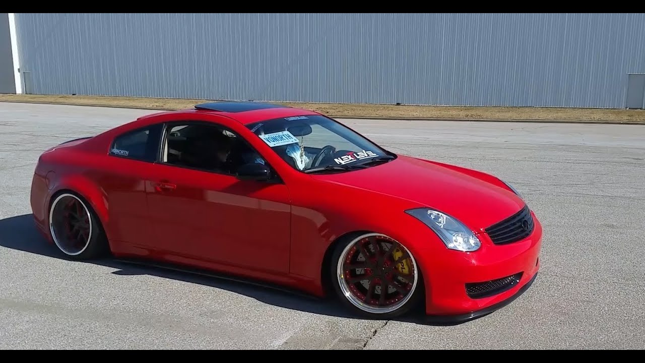 Modded Widebody G35 Coupe Donuts Youtube