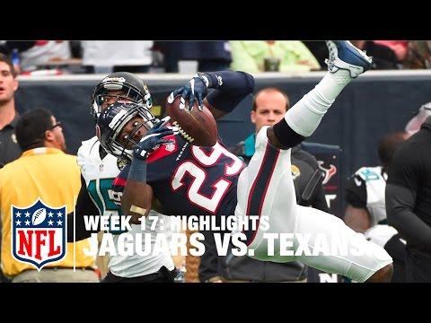 Jaguars vs. Texans | Week 17 Highlights | NFL