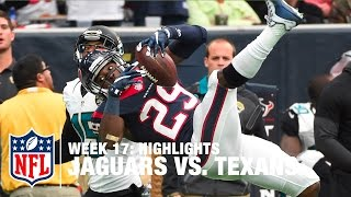 Jaguars vs. Texans | Week 17 Highlights | NFL