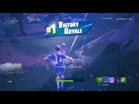 Fortnite sniper shootout win