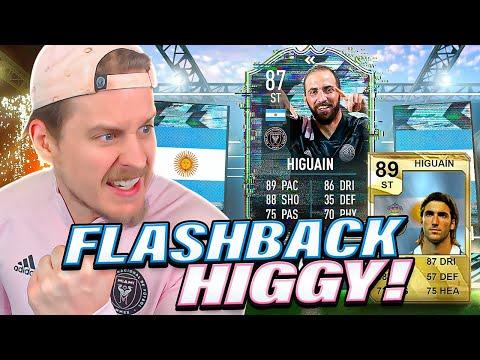 FLASHBACK HIGGY! 87 FLASHBACK HIGUAIN PLAYER REVIEW! FIFA 21 Ultimate Team