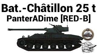 Bat.-Ch tillon 25 t - PanterADime RED-B