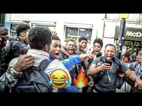 Crazy Reactions of Black People vs White People To Magic