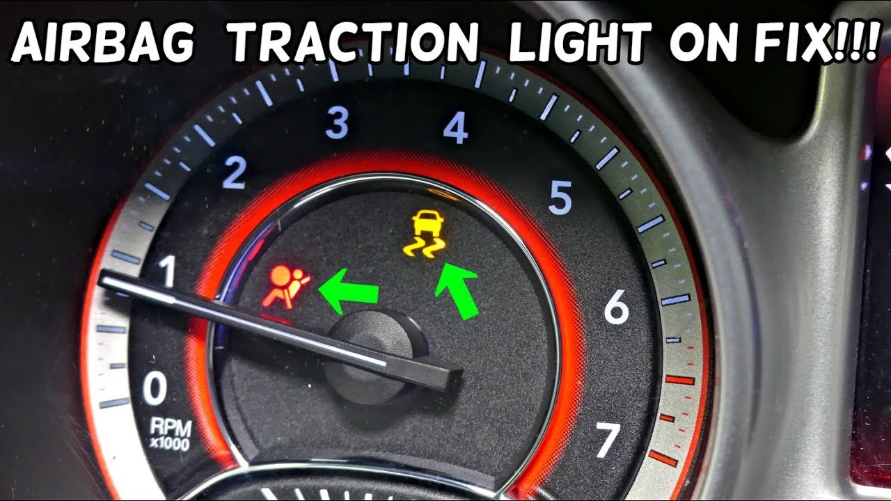 Dodge Journey Airbag Light Traction Control Light On Fix Fiat