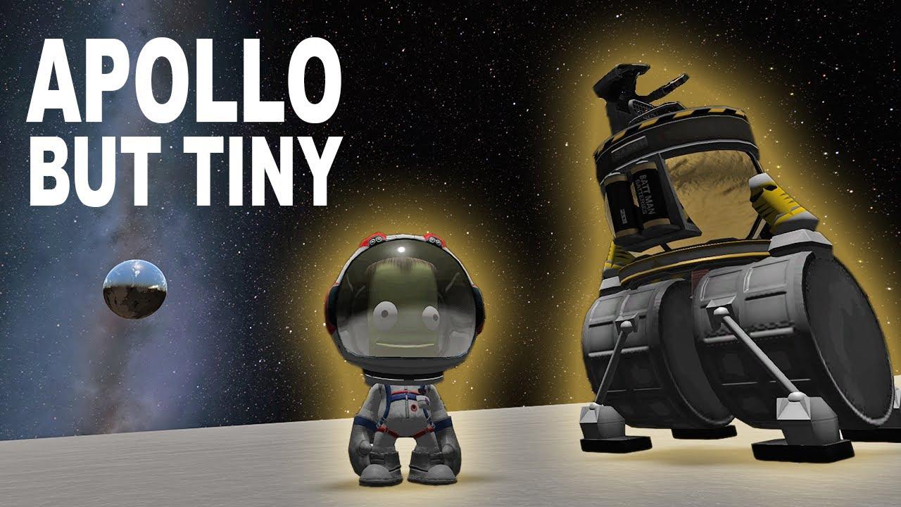 SUPER TINY Apollo 11 Style Mun Mission