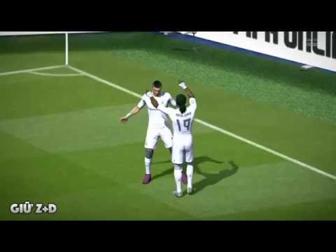 Những pha ăn mừng bàn thắng của CR7 trong Fifa online 3