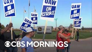 Union workers in film and TV near strike deadline