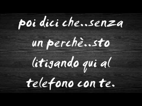 Gigi D'Alessio - Una notte al telefono + testo