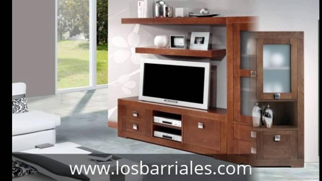 Muebles de madera maciza a medida para sal n fuenlabrada - Muebles de madera maciza para salon ...