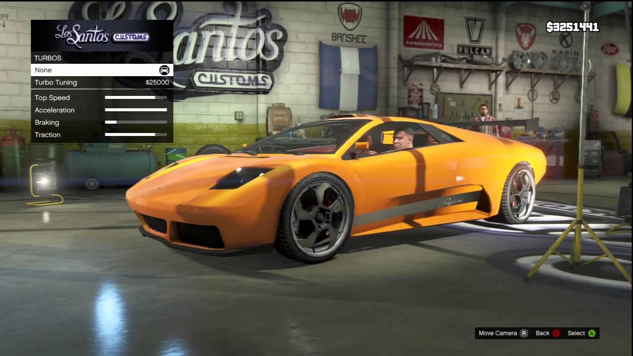 Gta 5 Fully Customized Lamborghini Diablo Pegassi