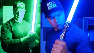 Leia's Lightsaber Episode 9 Unboxing and Review - Korbanth Sabers