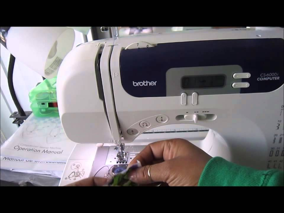 Brother CS40iUsing Your Gather Foot YouTube Mesmerizing Gathering Stitch On Sewing Machine