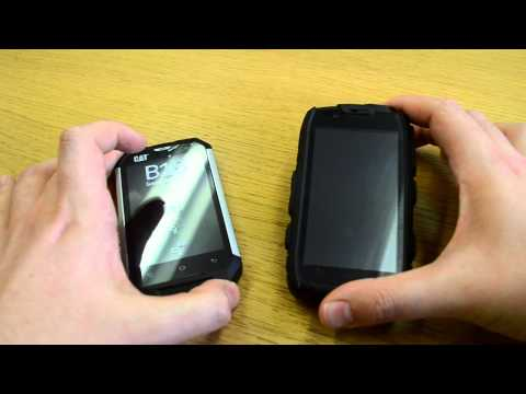 CAT B15 vs Defender - Rugged Smartphone Comparison