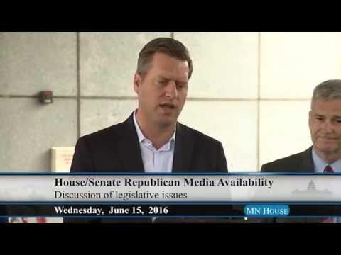 House/Senate Republican Media Availability 6/15/16
