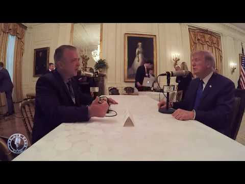 Pags Interviews President Trump