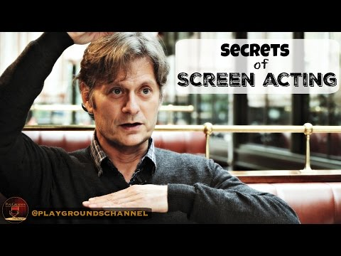 Film Acting Tips : how to act on camera, with Chris Mack
