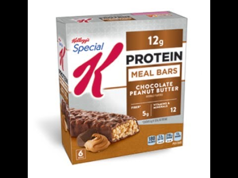 Honest Reviews: Special K Protein Meal Bar - Chocolate Peanut Butter By oppermanfitness/#gains