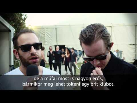 Chase & Status interview at Sziget