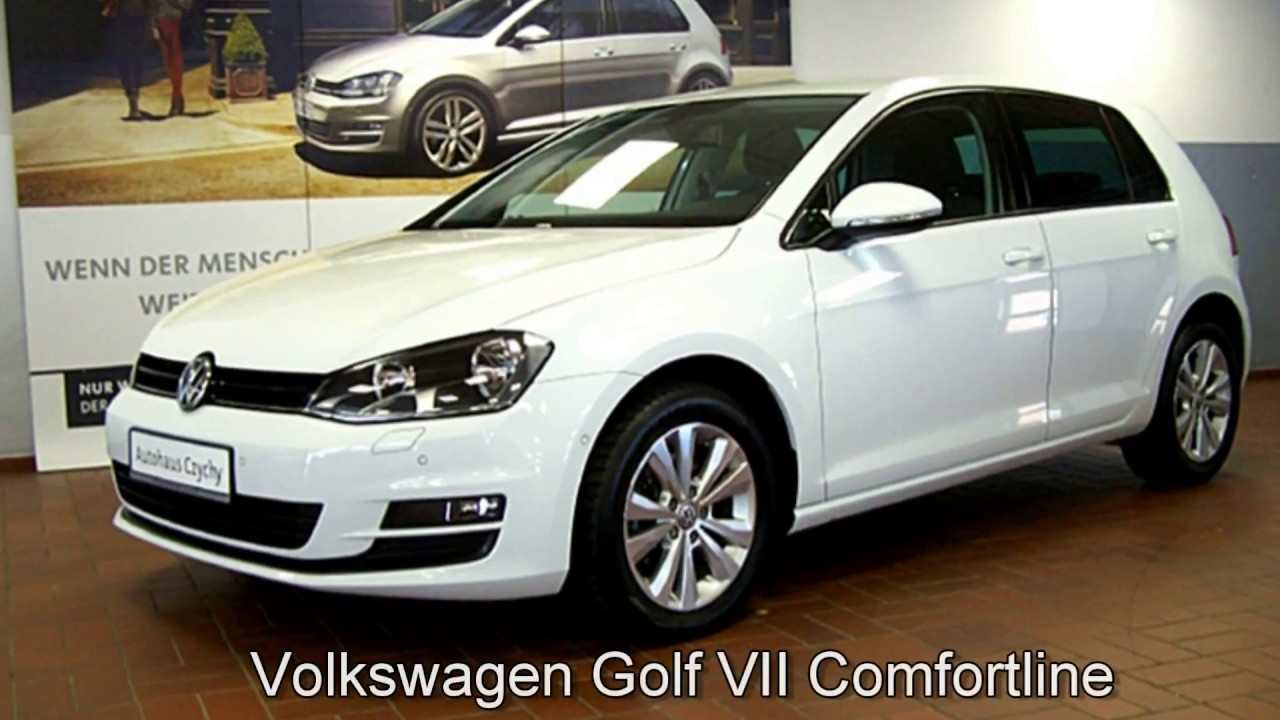 volkswagen golf vii 1 2 tsi comfortline ew168715 pure. Black Bedroom Furniture Sets. Home Design Ideas