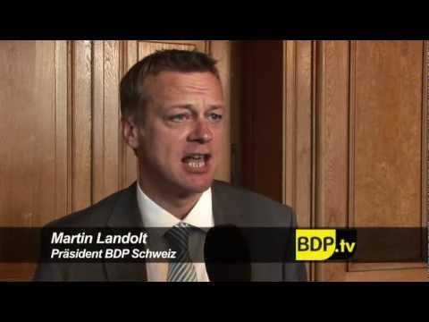 BDP Videonews zur Sommersession 2012 und Zusammenarbeit CVP