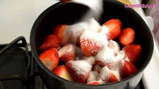 How To Strawberry Sauce (great Sauce For Cheesecake, Funnel Cake) - Cookwithapril