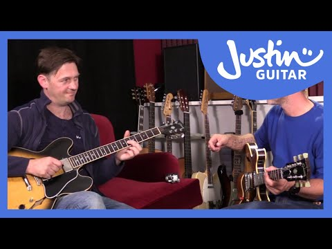 Getting 'Outside' Jazz Guitar Improvisation Lesson with special guest Mike Outram