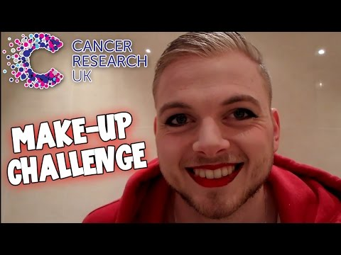 SquiddyVlogs - Make-Up Challenge - Cancer Research!