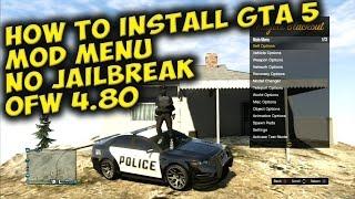 GTA 5 HOW TO INSTALL *OFW NO JAILBREAK MOD MENU* TUTORIAL ( EASY AND SIMPLE)