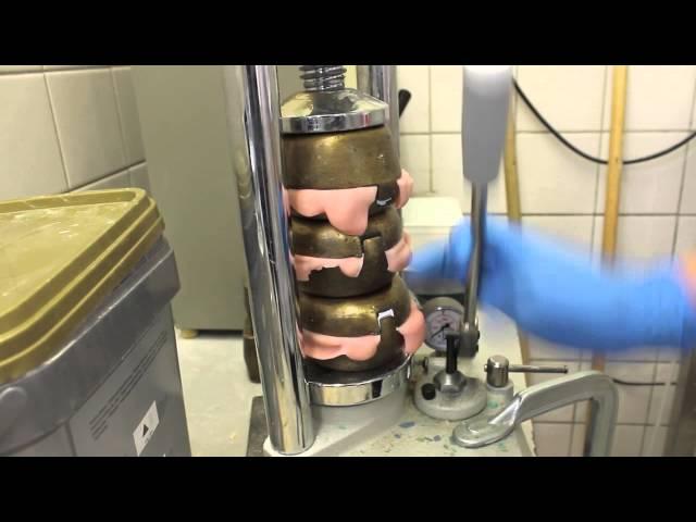 Panasil lab putty - inbedden
