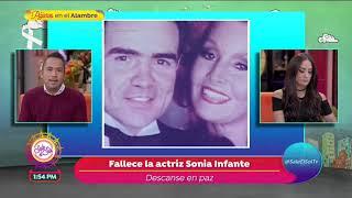 Muere la actriz Sonia Infante a los 75 años de edad   Sale el Sol