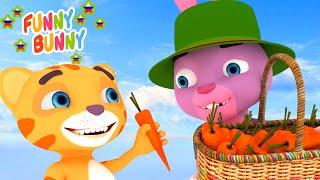 Песенка про Помощь Helping Song Funny Bunny детские песенки и мультики