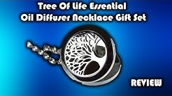 mEssentials Tree Of Life Essential Oil Diffuser Necklace Gift Set Review